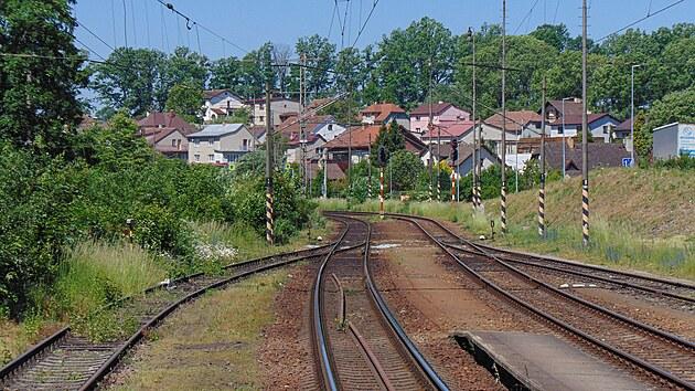 Odjezdová návěstidla stanice Batelov směrem na Horní Cerekev