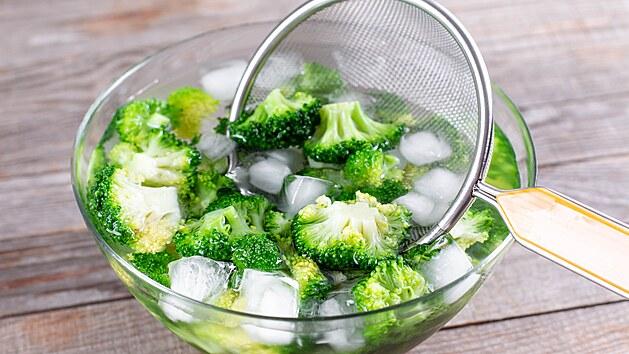 Zeleninu oblanšírujte