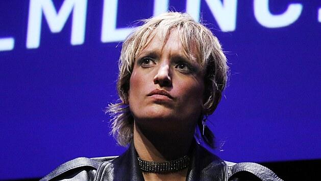 Herečka Agathe Rousselle z filmu Titan (17. září 2021)