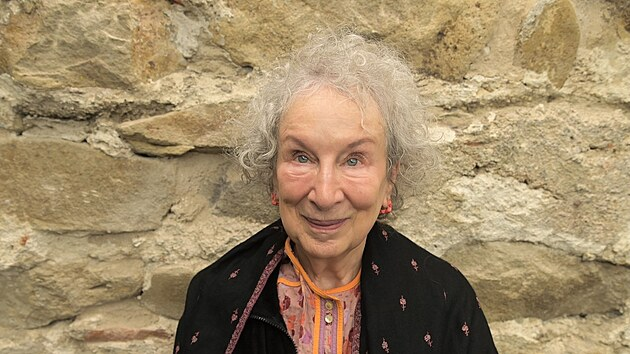 Kanadská spisovatelka Margaret Atwood
