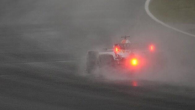 Max Verstappen během Velké ceny Turecka.
