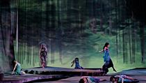 A scene from Opera Colorado's production of Rusalka