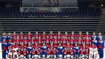 The last team photo of Locomotiv Yaroslavl, taken in late August