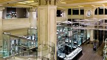 The interior of Tiffany & Co.'s flagship store in New York City