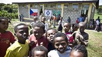Under its relief and development program, People in Need (Člověk v tísni) has built a dozen schools in Ethiopia