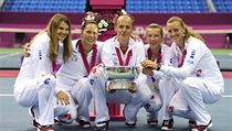 The Czech team will be seeking to repeat last year's Fed Cup success in Moscow with the added incentive of playing at home