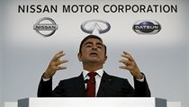 Šéf Nissanu Carlos Ghosn