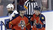 Florida Panthers right wing Jaromir Jagr (68) and Reilly Smith (18) celebrate... | na serveru Lidovky.cz | aktu�ln� zpr�vy