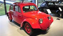 Prototyp KdF-Wagen z roku 1936.