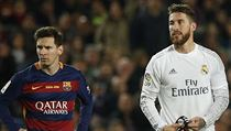 El Clasico - FC Barcelona vs. Real Madrid (Messi a Ramos).
