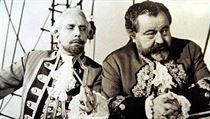 Miloš Kopeckı, Jan Werich ve filmu Baron Prášil (1961)