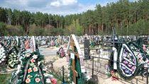 Hřbitov ve Slavutyči.