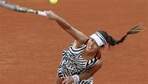 Ana Ivanovičová na French Open.
