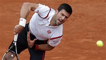 Novak Djokovic na French Open.