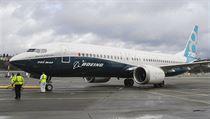 Novı letoun z letky společnosti Boeing nese označení 737 MAX.
