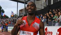 Americk� sprinter Tyson Gay