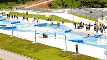 Olympic Whitewater Stadium (slalom na divok� vod�)