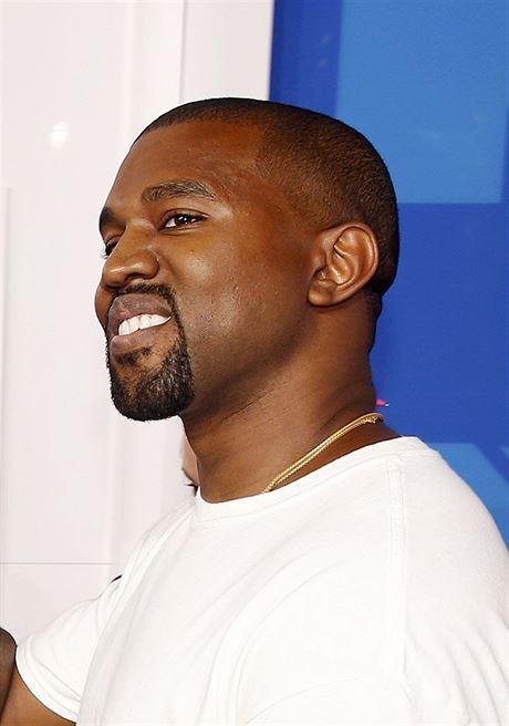 Kanye West na předávání cen MTV v Madison Square Garden.
