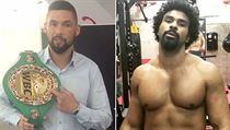 Tony Bellew (vlevo) a David Haye.