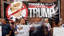 V USA probíhaly protesty proti novému migračnímu příkazu