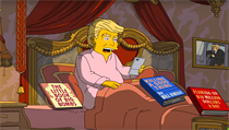 "Donald Trump v ""TheSimpsons"""