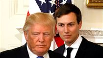 Donald Trump a Jared Kushner