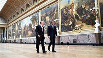Státníci jednali ve Versailles.