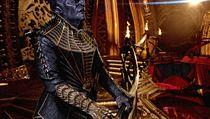 Chris Obi jako klingonskı vůdce T'Kuvma