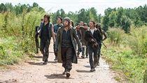 Seriál Živí mrtví (The Walking Dead).