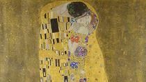 Gustav Klimt - Polibek (1907-1908).