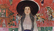 Gustav Klimt - Potrét Adele Bloch-Bauerové.