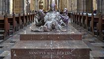 Nové sousoší sv. Vojtěcha, Radima a Radly v katedrále sv. Víta.