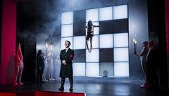 Provokativní inscenace Mein Kampf v kostnickém divadle.