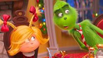 Grinch a Cindy. Snímek Grinch (2018). Režie: Yarrow Cheney a Scott Mosier.