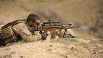 Odstřelovač z americké jednotky Navy SEALs.