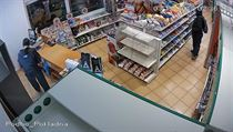 Při loupežném přepadení benzinové čerpací stanice v Nelahozevsi na Mělnicku...