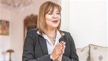 Marocká velvyslankyně v Česku Hanane Saadi