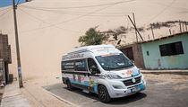 Auto se značkou 011Barth se letos účastnilo slavné Rallye Dakar v roli...