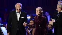 Ocenění za celoživotní přínos obdrželi operní pěvkyně Soňa Červená a sbormistr...