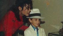 Michael Jackson a Wade Robson.