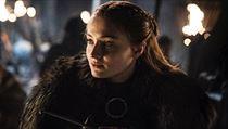 Hra o trůny - 8. série: Sansa Stark (Sophie Turnerová).