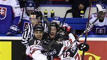Radost kanadskıch hokejistů