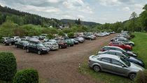 V období polskıch prázdnin či volnıch dní je většina parkoviště v okolí...