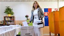 Nastupující slovenská prezidentka Zuzana Čaputová odevzdala 25. května 2019 v...