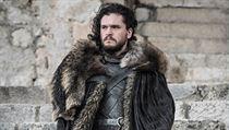 Jon Sníh neboli Aegon Targaryen (Kit Harington). Hra o trůny, 8. série, 6. část.