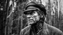 Jakub Čech. Fotografie z natáčení filmu Nabarvené ptáče (2019) Režie: Václav...