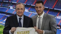 Eden Hazard a Florentino Peréz