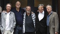 Monty Python po třiceti letech: Eric Idle, John Cleese, Terry Gilliam, Michael...