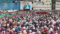 Na akci podle organizátorů dorazilo na 43 000 muslimů a další tisícovka hostů.