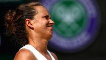 Wimbledon - semifinále Strıcová vs. Williamsová: zklamaná Češka.